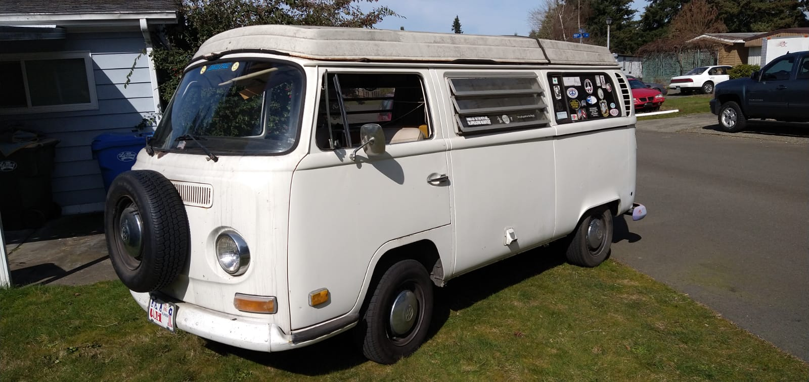 Vw combi westfalia 1971